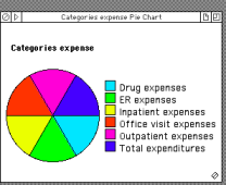 Expense color coding